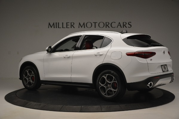 New 2019 Alfa Romeo Stelvio Q4 for sale Sold at McLaren Greenwich in Greenwich CT 06830 4
