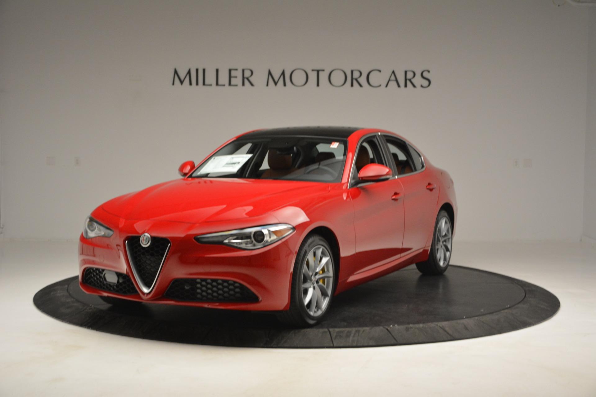 New 2019 Alfa Romeo Giulia Q4 for sale Sold at McLaren Greenwich in Greenwich CT 06830 1