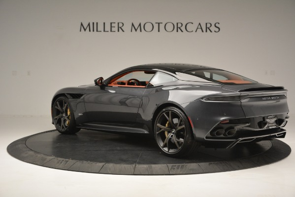 Used 2019 Aston Martin DBS Superleggera Coupe for sale $265,900 at McLaren Greenwich in Greenwich CT 06830 4
