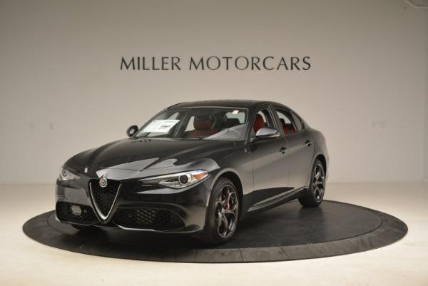New 2019 Alfa Romeo Giulia Ti Sport Q4 for sale Sold at McLaren Greenwich in Greenwich CT 06830 1