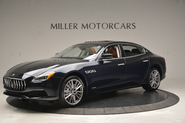 New 2019 Maserati Quattroporte S Q4 GranLusso Edizione Nobile for sale Sold at McLaren Greenwich in Greenwich CT 06830 2
