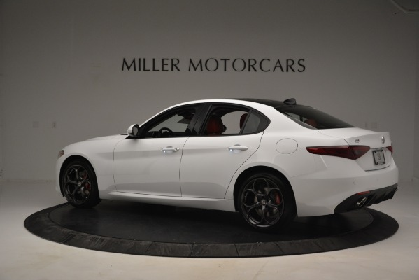 New 2019 Alfa Romeo Giulia Ti Sport Q4 for sale Sold at McLaren Greenwich in Greenwich CT 06830 4