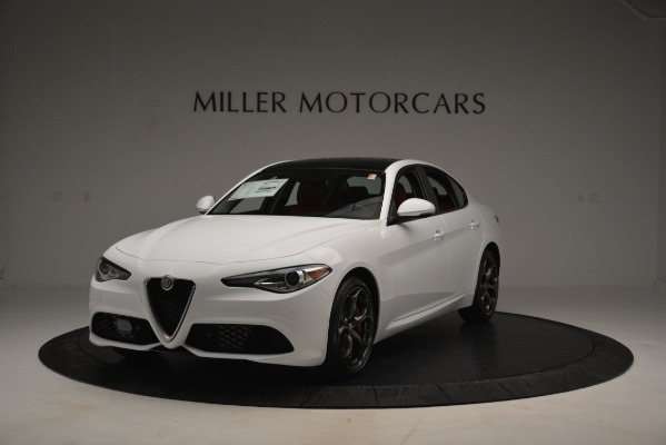 New 2019 Alfa Romeo Giulia Ti Sport Q4 for sale Sold at McLaren Greenwich in Greenwich CT 06830 1