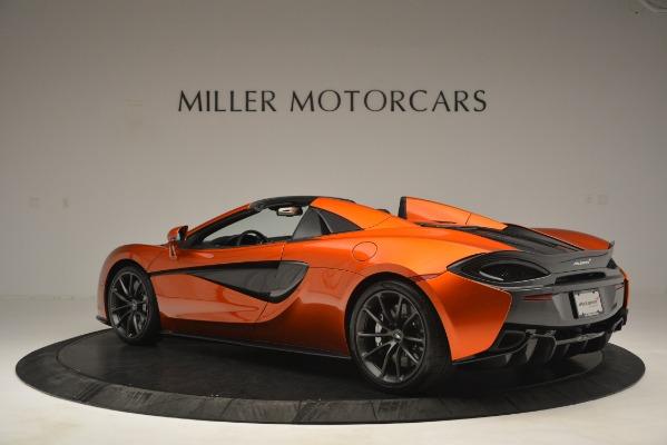 New 2019 McLaren 570S Spider Convertible for sale Sold at McLaren Greenwich in Greenwich CT 06830 4