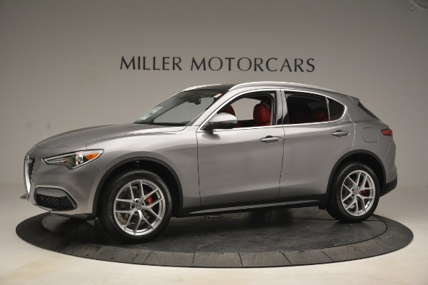 New 2019 Alfa Romeo Stelvio Ti Lusso Q4 for sale Sold at McLaren Greenwich in Greenwich CT 06830 2