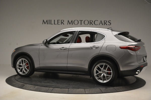 New 2019 Alfa Romeo Stelvio Ti Lusso Q4 for sale Sold at McLaren Greenwich in Greenwich CT 06830 4