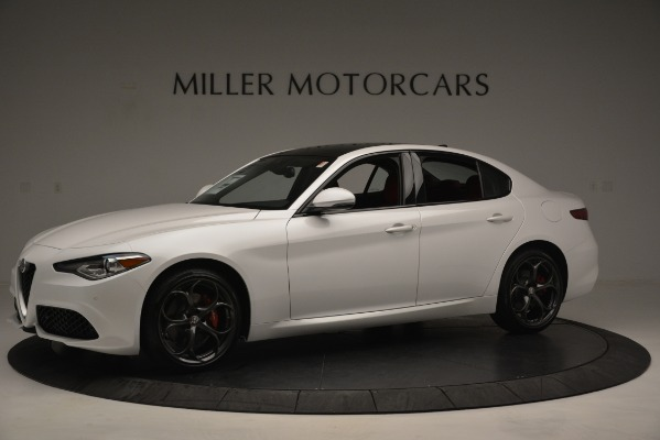 New 2019 Alfa Romeo Giulia Ti Sport Q4 for sale Sold at McLaren Greenwich in Greenwich CT 06830 2