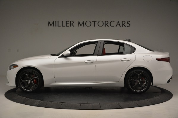 New 2019 Alfa Romeo Giulia Ti Sport Q4 for sale Sold at McLaren Greenwich in Greenwich CT 06830 3