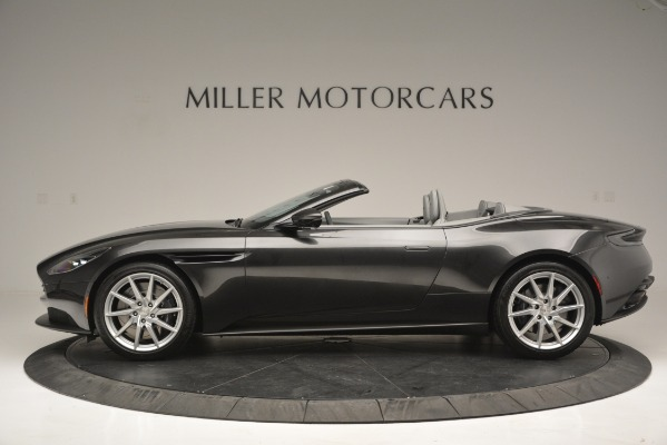 New 2019 Aston Martin DB11 V8 Convertible for sale Sold at McLaren Greenwich in Greenwich CT 06830 3