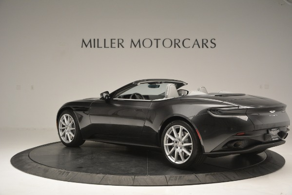 New 2019 Aston Martin DB11 V8 Convertible for sale Sold at McLaren Greenwich in Greenwich CT 06830 4
