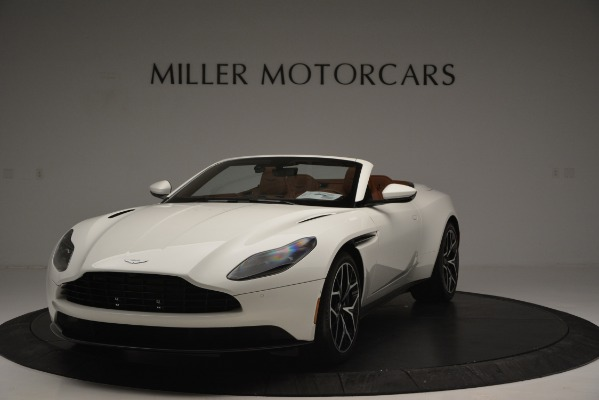 Used 2019 Aston Martin DB11 V8 Convertible for sale Sold at McLaren Greenwich in Greenwich CT 06830 2