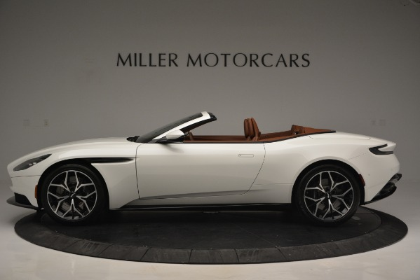 Used 2019 Aston Martin DB11 V8 Convertible for sale Sold at McLaren Greenwich in Greenwich CT 06830 3