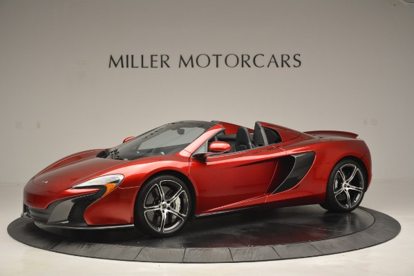 Used 2015 McLaren 650S Spider for sale Sold at McLaren Greenwich in Greenwich CT 06830 2