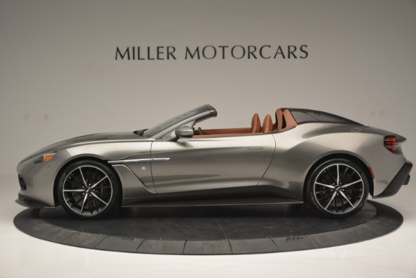 Used 2018 Aston Martin Zagato Speedster Convertible for sale Sold at McLaren Greenwich in Greenwich CT 06830 3