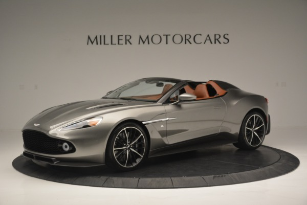 Used 2018 Aston Martin Zagato Speedster Convertible for sale Sold at McLaren Greenwich in Greenwich CT 06830 1