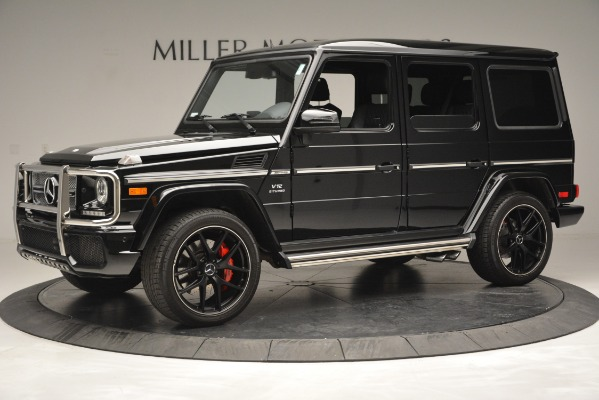 Used 2016 Mercedes-Benz G-Class AMG G 65 for sale Sold at McLaren Greenwich in Greenwich CT 06830 2