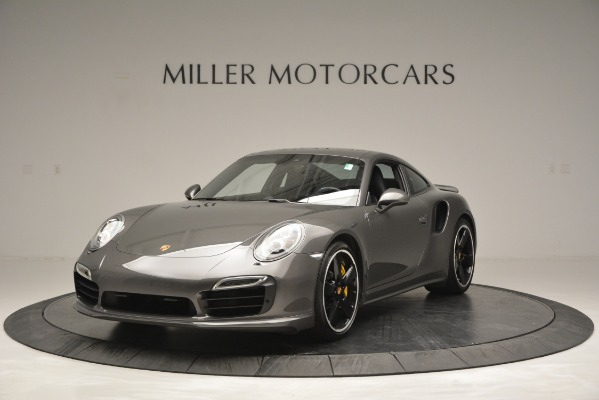 Used 2015 Porsche 911 Turbo S for sale Sold at McLaren Greenwich in Greenwich CT 06830 1