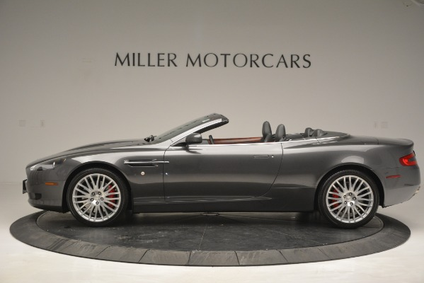 Used 2009 Aston Martin DB9 Convertible for sale Sold at McLaren Greenwich in Greenwich CT 06830 3