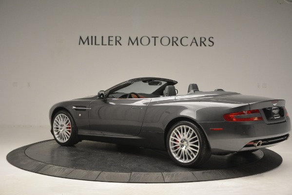 Used 2009 Aston Martin DB9 Convertible for sale Sold at McLaren Greenwich in Greenwich CT 06830 4