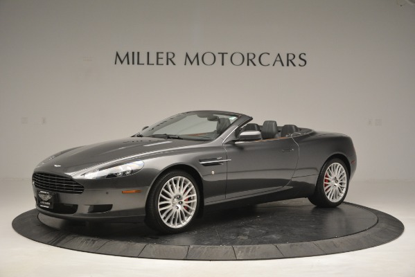 Used 2009 Aston Martin DB9 Convertible for sale Sold at McLaren Greenwich in Greenwich CT 06830 1