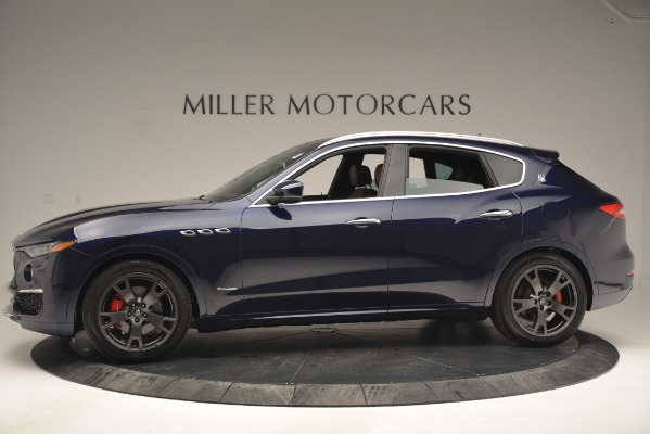 New 2019 Maserati Levante Q4 GranLusso for sale Sold at McLaren Greenwich in Greenwich CT 06830 3
