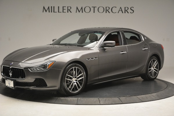 Used 2015 Maserati Ghibli S Q4 for sale Sold at McLaren Greenwich in Greenwich CT 06830 2