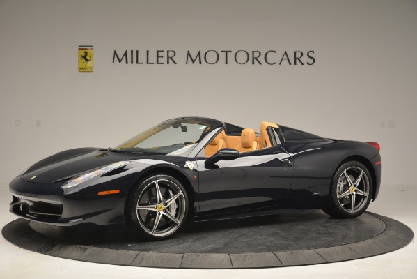 Used 2014 Ferrari 458 Spider for sale Sold at McLaren Greenwich in Greenwich CT 06830 2
