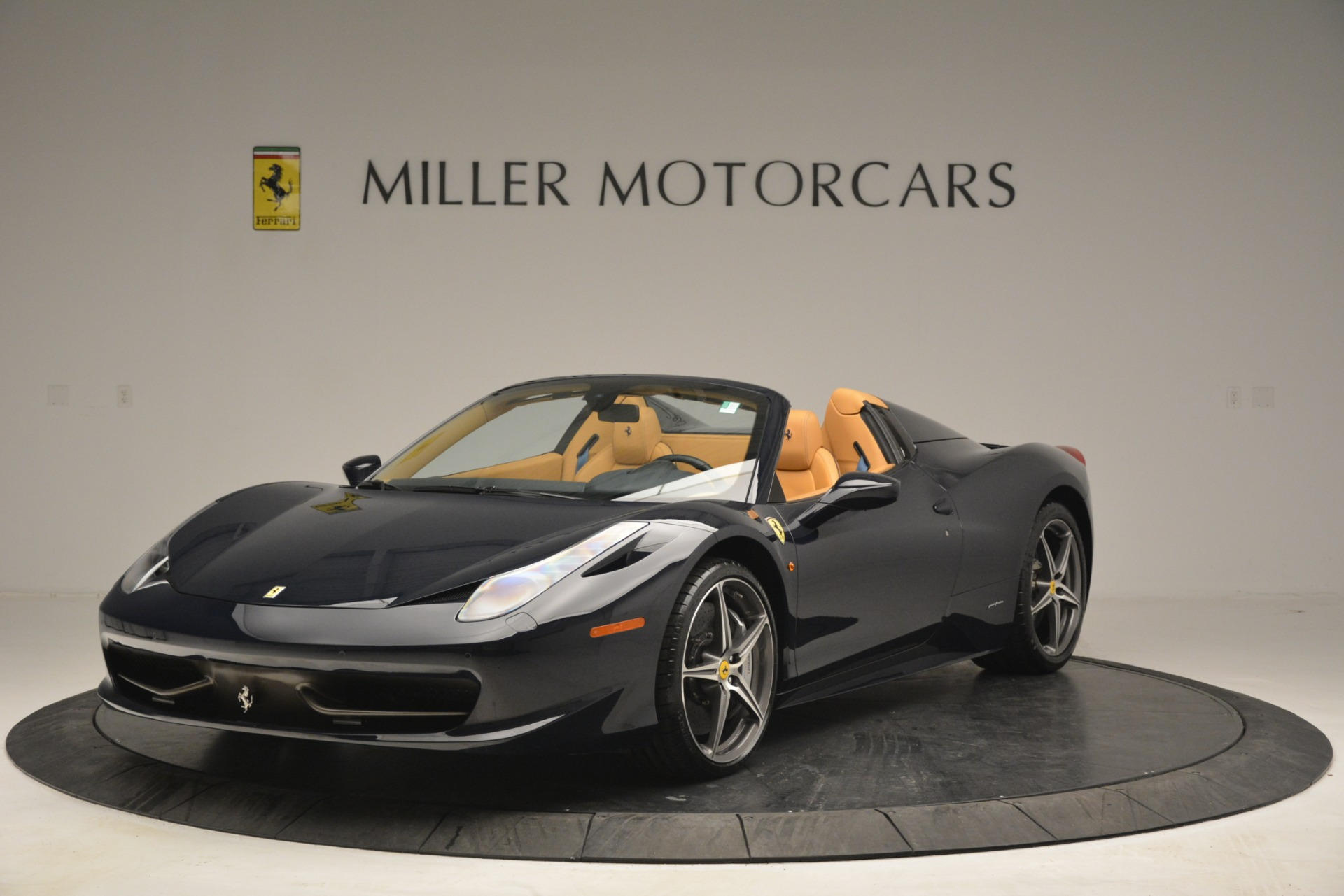 Used 2014 Ferrari 458 Spider for sale Sold at McLaren Greenwich in Greenwich CT 06830 1