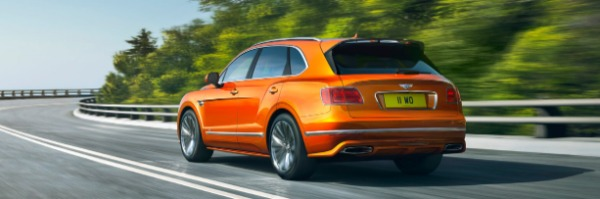 New 2020 Bentley Bentayga Speed for sale Sold at McLaren Greenwich in Greenwich CT 06830 3
