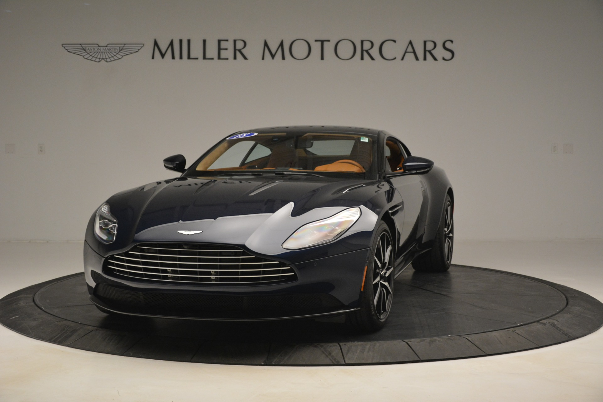 Used 2018 Aston Martin DB11 V12 Coupe for sale Sold at McLaren Greenwich in Greenwich CT 06830 1