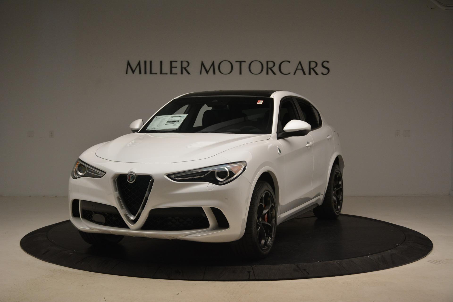 Used 2019 Alfa Romeo Stelvio Quadrifoglio for sale Sold at McLaren Greenwich in Greenwich CT 06830 1