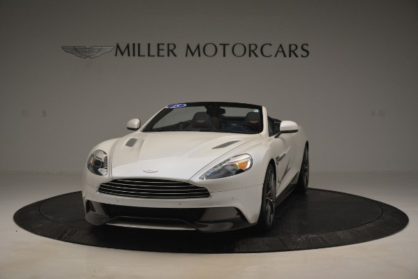Used 2015 Aston Martin Vanquish Convertible for sale Sold at McLaren Greenwich in Greenwich CT 06830 2