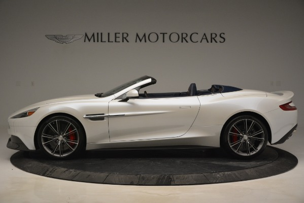 Used 2015 Aston Martin Vanquish Convertible for sale Sold at McLaren Greenwich in Greenwich CT 06830 3