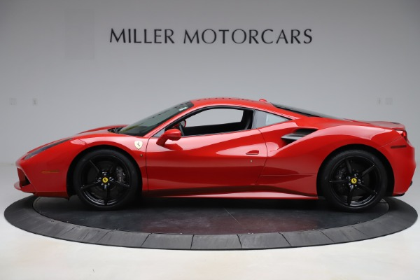 Used 2018 Ferrari 488 GTB for sale $245,900 at McLaren Greenwich in Greenwich CT 06830 3