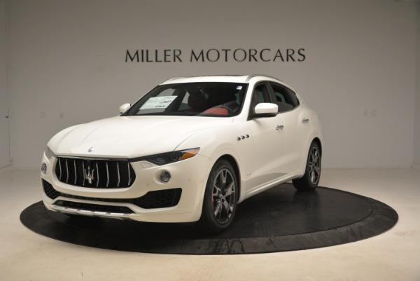 New 2019 Maserati Levante S Q4 GranLusso for sale Sold at McLaren Greenwich in Greenwich CT 06830 1