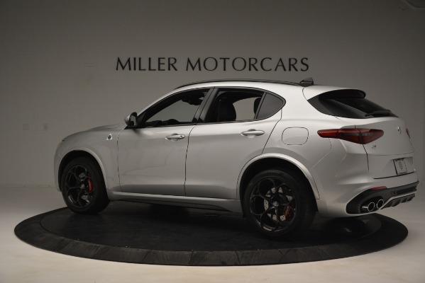New 2019 Alfa Romeo Stelvio Quadrifoglio for sale Sold at McLaren Greenwich in Greenwich CT 06830 4