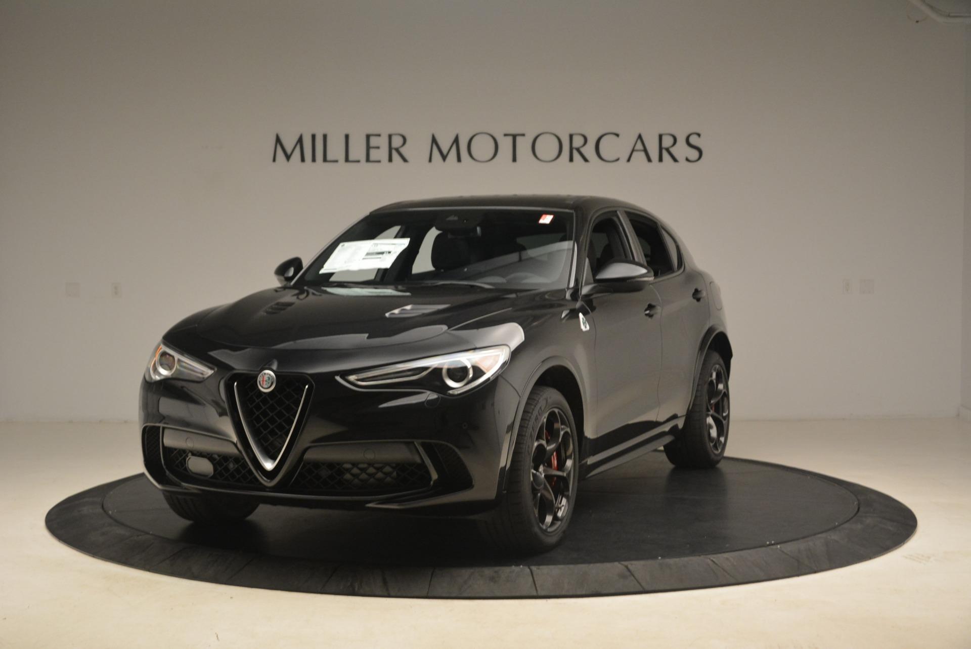 New 2019 Alfa Romeo Stelvio Quadrifoglio for sale $86,440 at McLaren Greenwich in Greenwich CT 06830 1