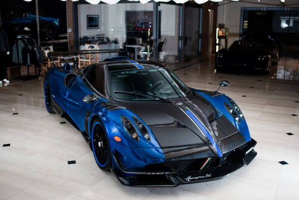 Used 2017 Pagani Huayra BC Macchina Volante for sale Call for price at McLaren Greenwich in Greenwich CT 06830 2