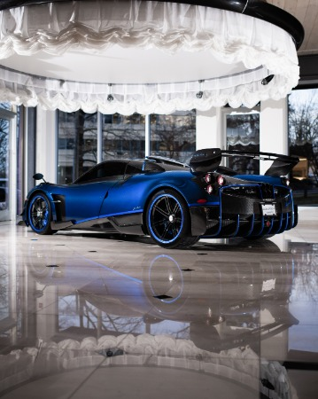 Used 2017 Pagani Huayra BC Macchina Volante for sale Call for price at McLaren Greenwich in Greenwich CT 06830 3