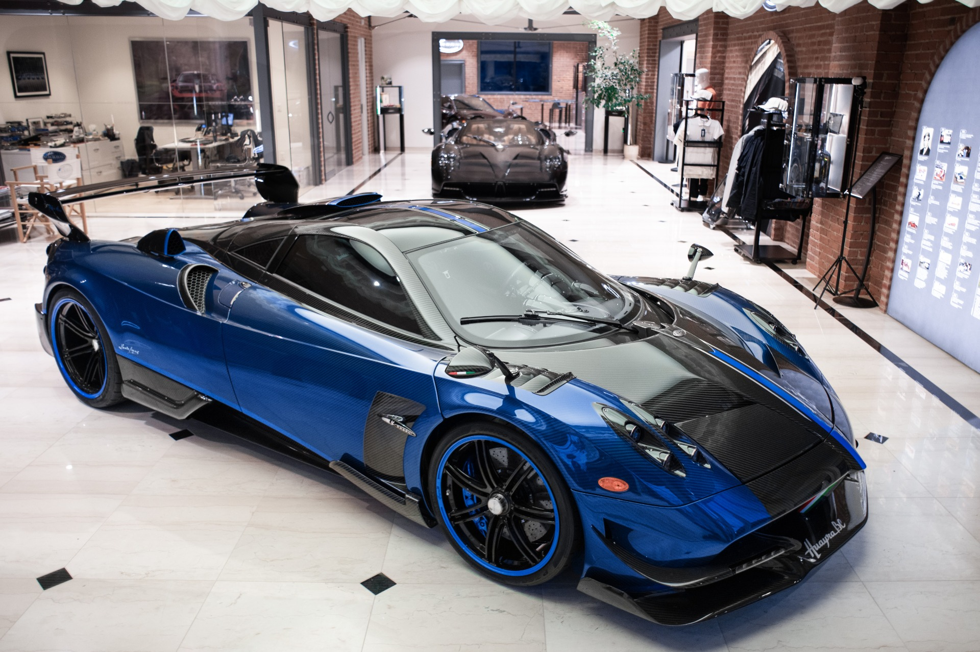 Used 2017 Pagani Huayra BC Macchina Volante for sale Call for price at McLaren Greenwich in Greenwich CT 06830 1