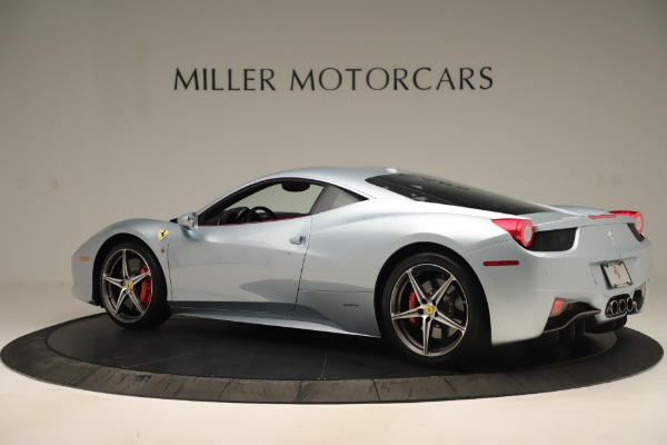 Used 2015 Ferrari 458 Italia for sale Sold at McLaren Greenwich in Greenwich CT 06830 4