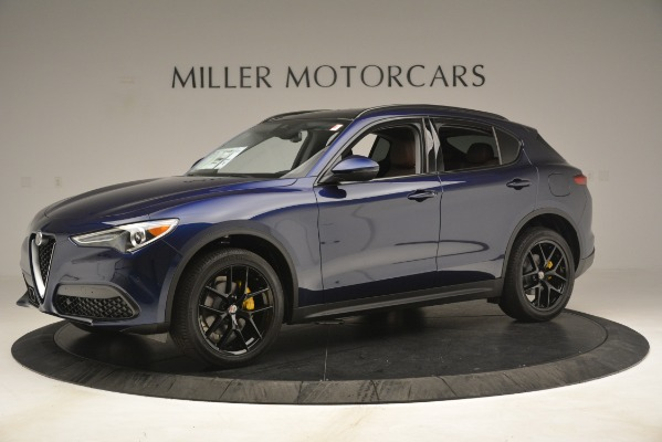 New 2019 Alfa Romeo Stelvio Sport Q4 for sale Sold at McLaren Greenwich in Greenwich CT 06830 2