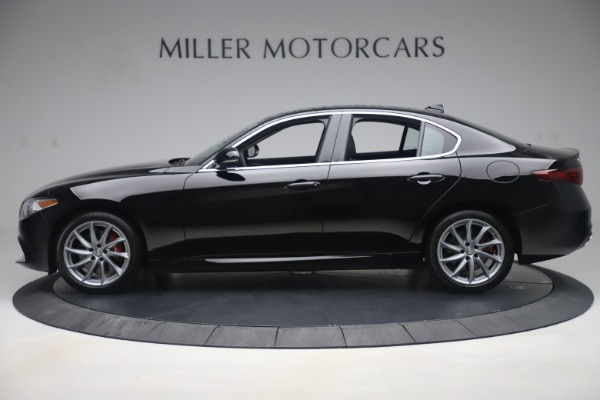 New 2019 Alfa Romeo Giulia Q4 for sale $46,140 at McLaren Greenwich in Greenwich CT 06830 3