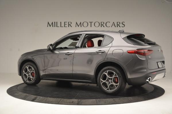 New 2019 Alfa Romeo Stelvio Sport Q4 for sale Sold at McLaren Greenwich in Greenwich CT 06830 4