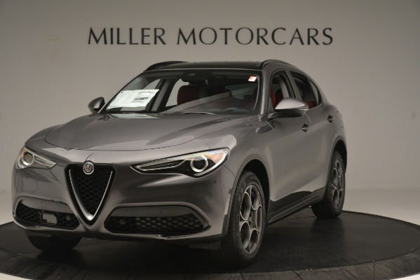 New 2019 Alfa Romeo Stelvio Sport Q4 for sale Sold at McLaren Greenwich in Greenwich CT 06830 1