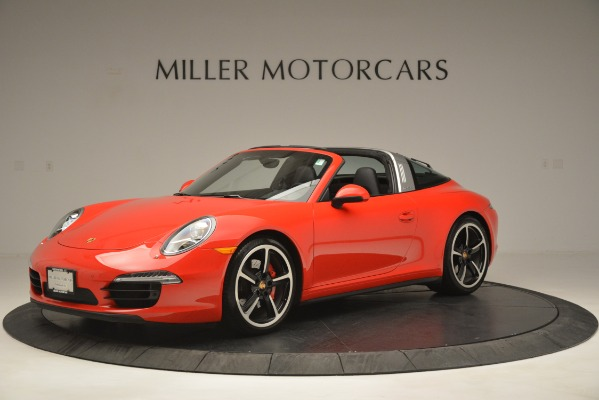 Used 2016 Porsche 911 Targa 4S for sale Sold at McLaren Greenwich in Greenwich CT 06830 2