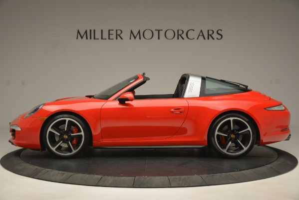 Used 2016 Porsche 911 Targa 4S for sale Sold at McLaren Greenwich in Greenwich CT 06830 3