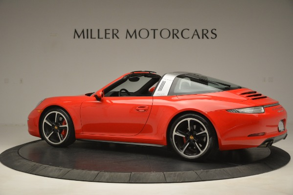 Used 2016 Porsche 911 Targa 4S for sale Sold at McLaren Greenwich in Greenwich CT 06830 4