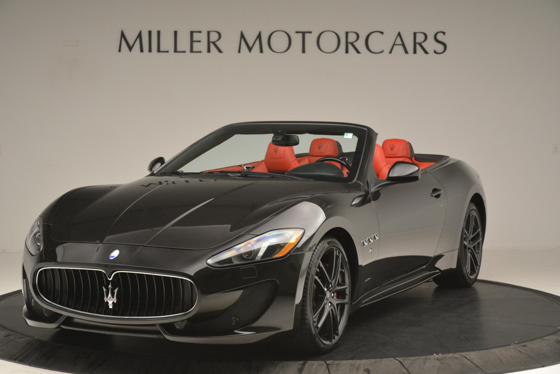 Used 2015 Maserati GranTurismo Sport for sale Sold at McLaren Greenwich in Greenwich CT 06830 1