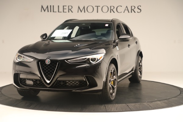 Used 2019 Alfa Romeo Stelvio Quadrifoglio for sale $67,900 at McLaren Greenwich in Greenwich CT 06830 1